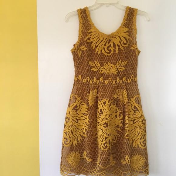 fba4f689e68c Anthropologie Dresses & Skirts - Anthropologie Yoana Baraschi Honeycomb Lace  Dress,
